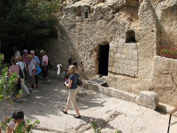 le tombeau de jesus christ