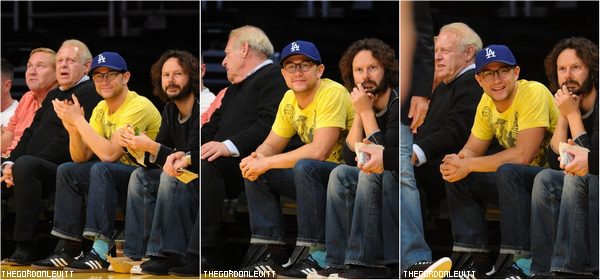 02.11.12 - Joe au match des Lakers