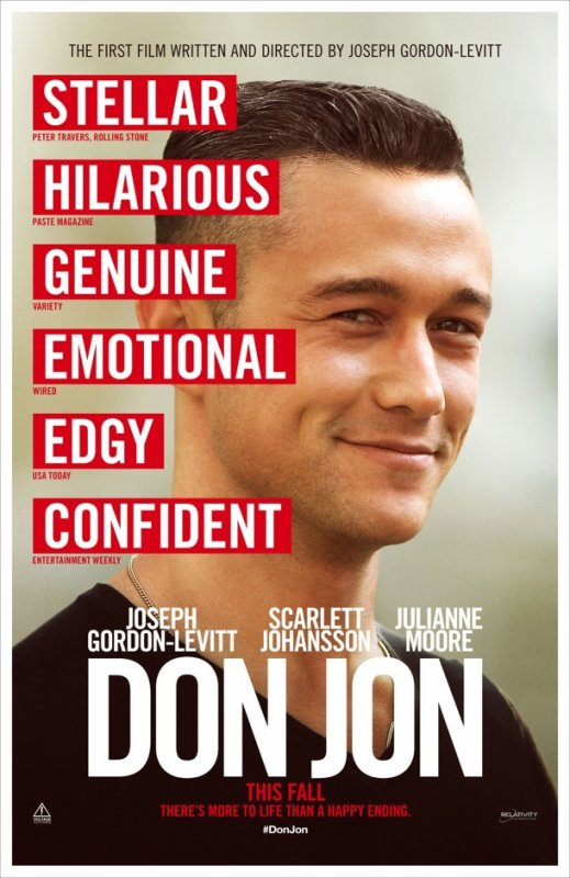Don Jon : affiche du film !