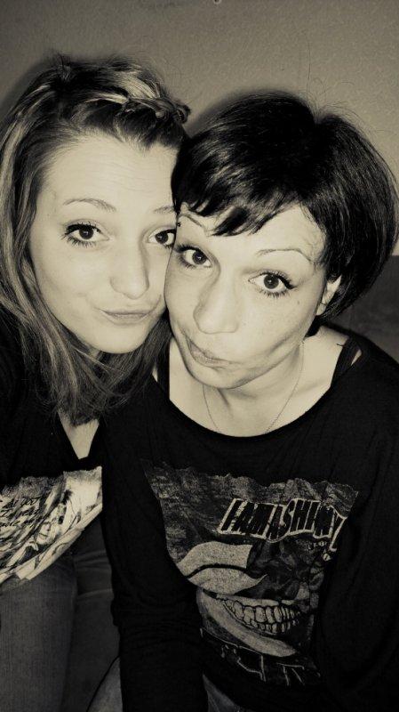 Anaïs et moi :)