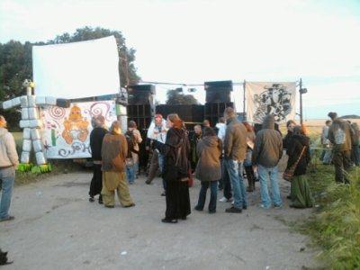 Teuf à Rouvres, près de Caen (14) le 21.06.09
