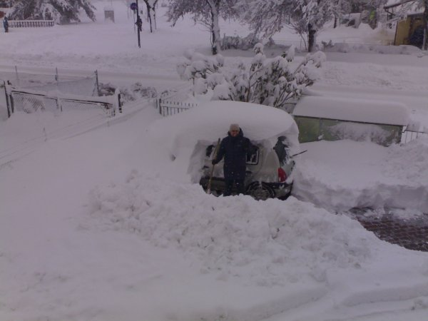 nevicata storica