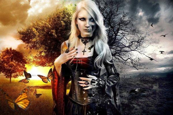 """""""ƸӜƷ Gothic Dark Fairy ƸӜƷ."""""""