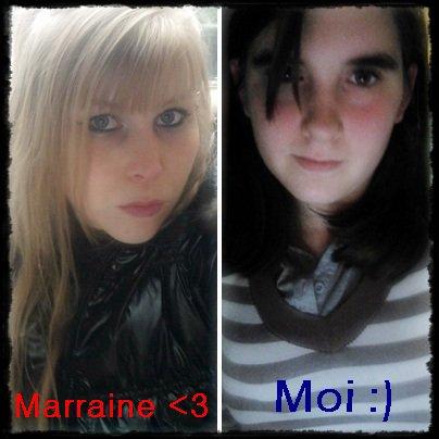 Moi & Ma marraine! ♥..♥