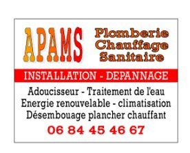 APAMS Plomberie  ST LAURENT D OINGT  06  84  45  46  67