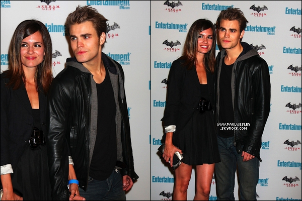 * 23/07/2011 : Paul & Torrey à l'événement organisé par Entertainment Weekly à l'occasion du Comic Con.*