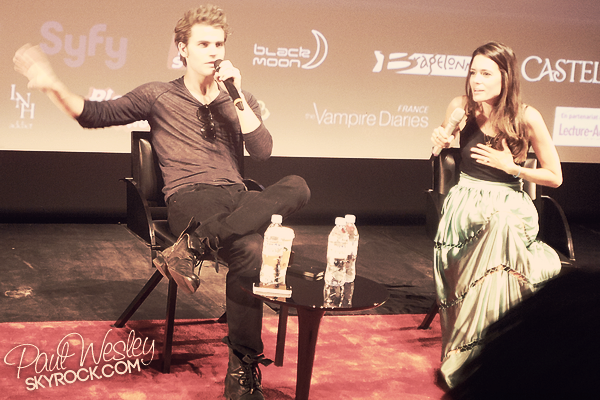 • Le 27 Mai 2012 - Convention française «Welcome to Mystic Falls 2» (Jour 2)