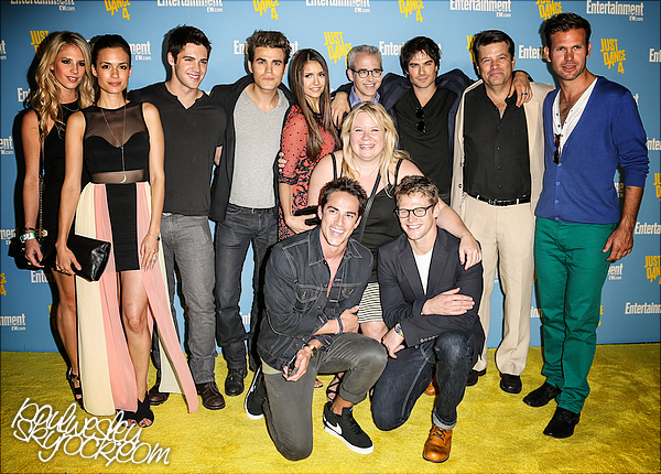 • 14 Juillet 2012 - Comic con 2012 (3rd part) Le (sublime) cast se trouvait à la fête organisée par Entertairmnent Weekly