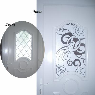 Motifs En Adhsif Pour Dcorer Votre Porte DEntre  Ma Deco
