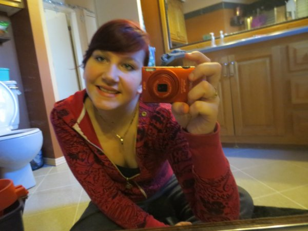 encore moi et ma nouvelle couleur de cheveux