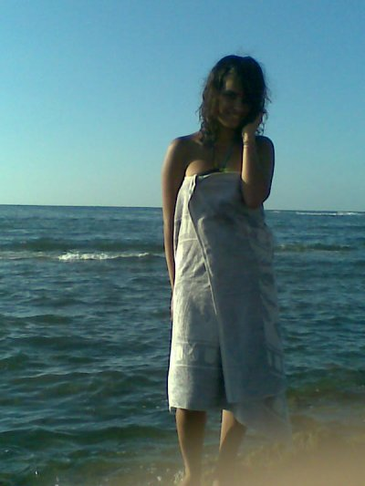 a la plage