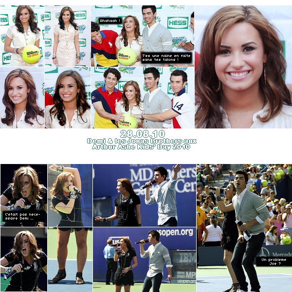 Demi Lovato  2010 Arthur Ashe Kids' Day