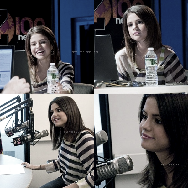 Selena donnant une interview pour la radio « SiriusXM » à New York.+ Live Chat de Selena le 14/03 Partie 1 et 2