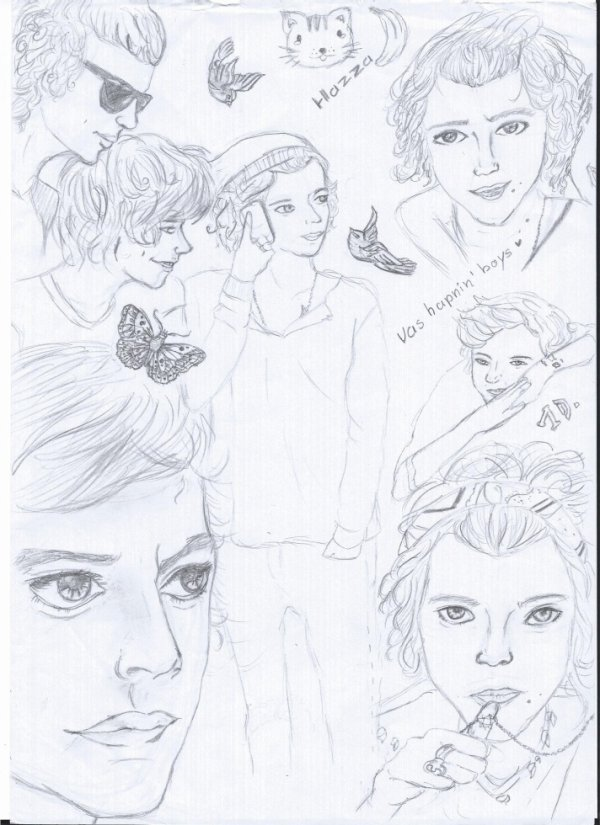 harry styles croquis