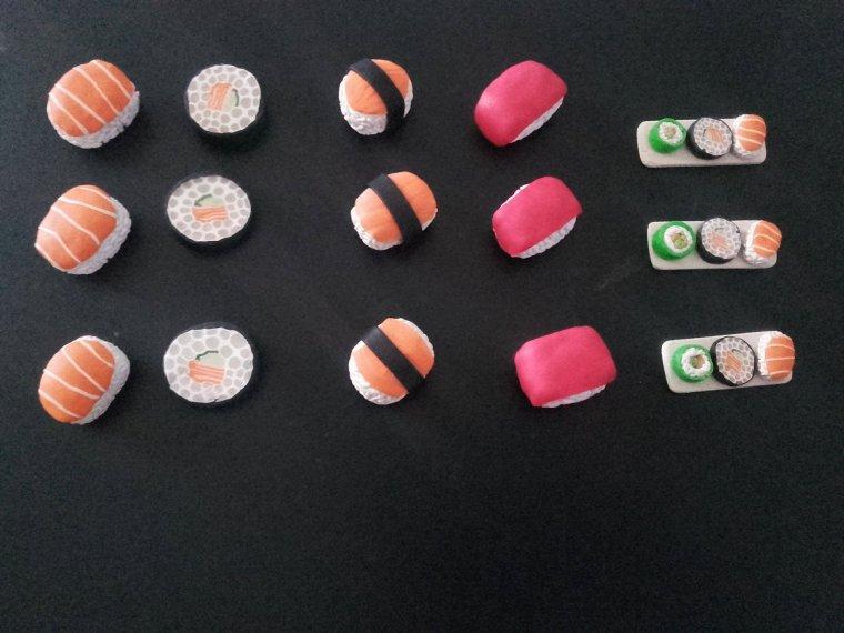 Sushi vendu