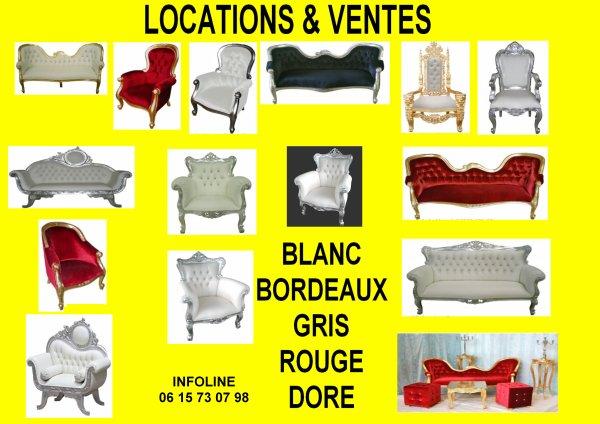 location ou vente des trônes