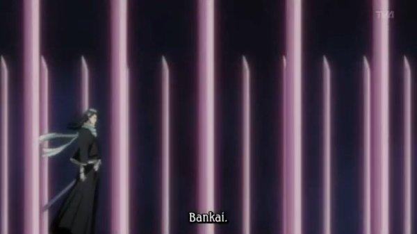 !!! Kuchiki Byaluya bankai !!!