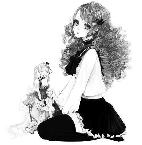 gris blanc noir