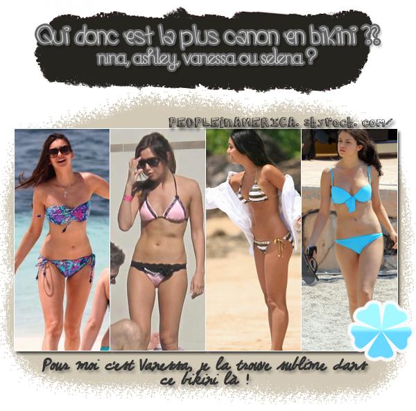 ► w w w . PEOPLEINAMERICA . skyrock . com →  La plus canon en bikini.