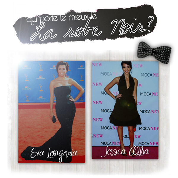 ► w w w . PEOPLEINAMERICA . skyrock . com →  Qui porte mieux la robe noir ?