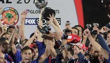 La Copa Sudamericana pour l'Universidad Chile