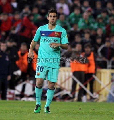Le Barça prolonge Montoya