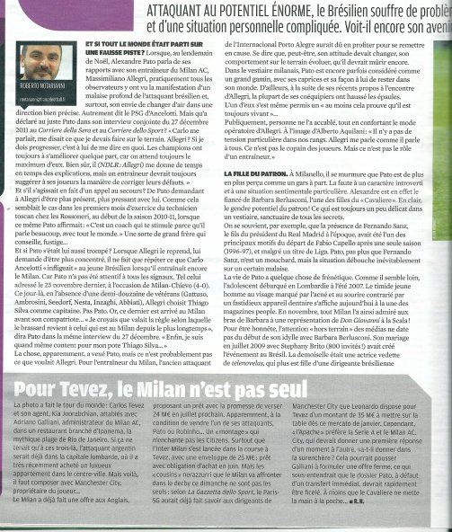 Scan de France football de cette semaine