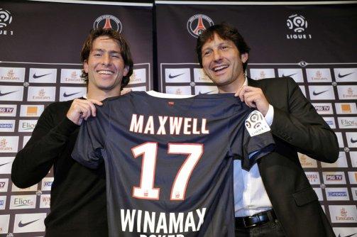 Maxwell au PSG
