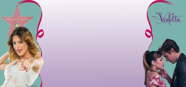Habillage Blog => Violetta