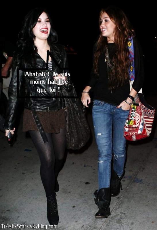 Demi 02 ont Cyrus ensembleCoté mangé 02 10 LovatoMiley cK1TlFJ