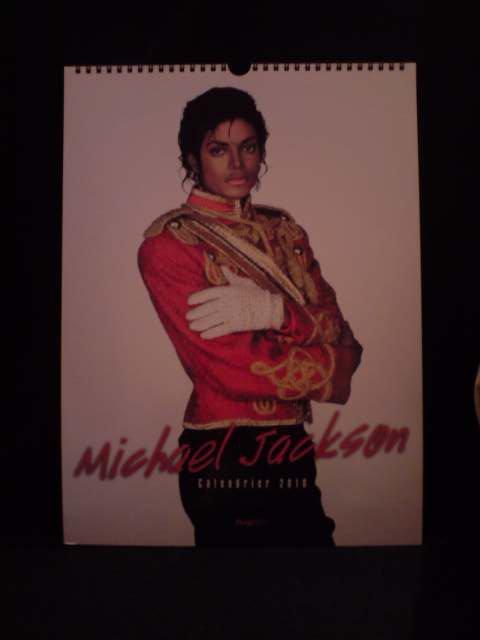 calendrier 2010 michael jackson