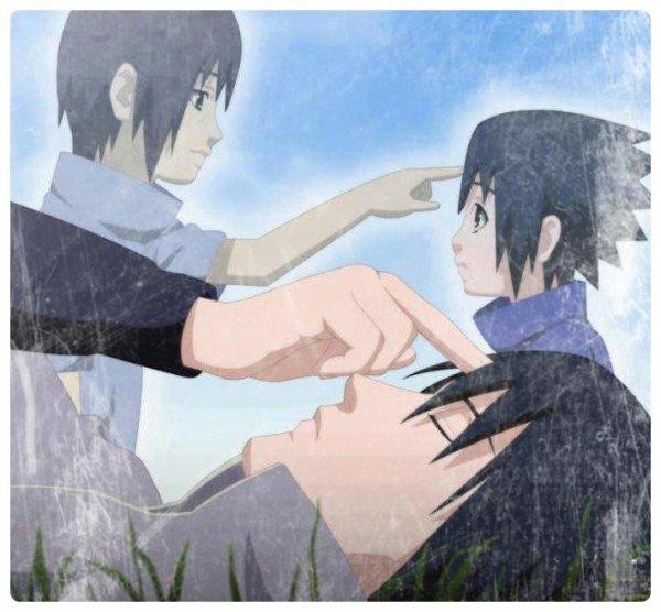 Sasuke , il l'aime son grand frère ...