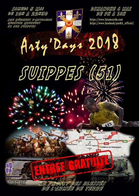 Journées Porte Ouverte au 40éme Régiment d'Artillerie  ( 5 et 6 mai 2018 )