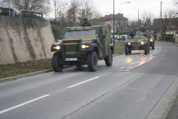 véhicules militaires de l'armée de terre