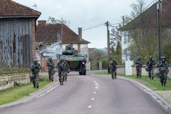 Exercice Militaires en Terrain Libre