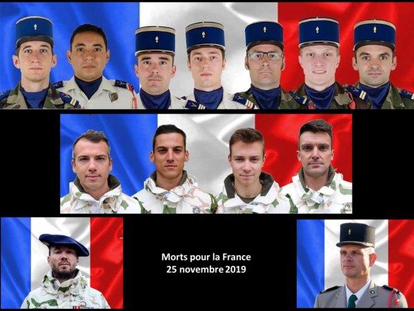 Hommages a nos militaires Morts aux champ d'honneur