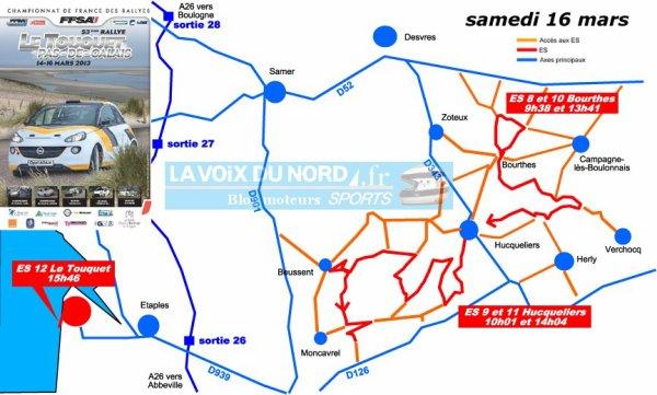 Rallye du Touquet 2013