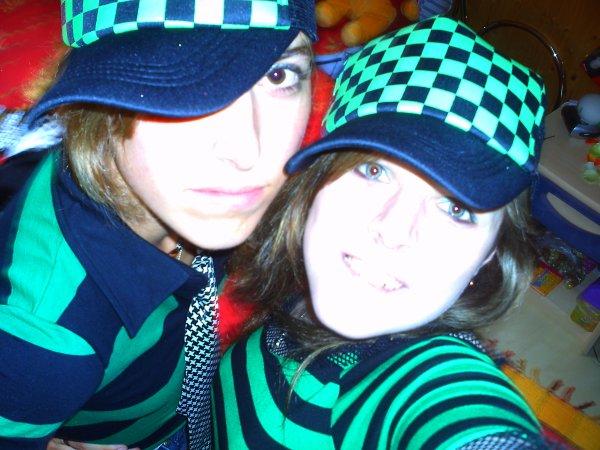 Marie et Alyssa.