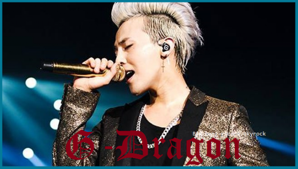 Présentation de G-Dragon.
