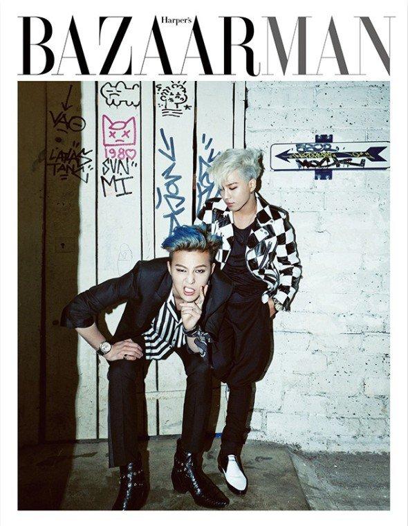 Harper's BAZAAR MAN ? G-Dragon et Taeyang sont dans la place !