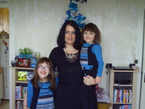 ma copine vanessa et ses filles