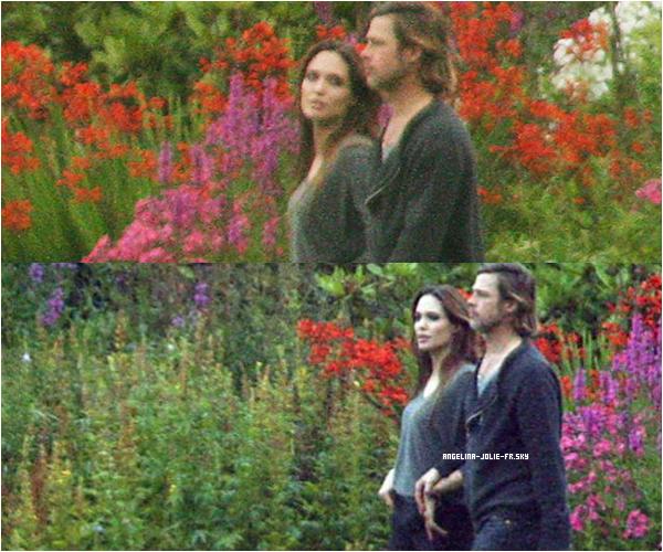 Angelina Jolie se trouve actuellement à Glasgow. Le couple a d'ailleurs loué un manoir du XVIe siècle, avec un jardin de quatre hectares à Ayrshire. Angie en a profité pour passer du temps avec ses enfants. Elle a été aperçue jeudi et vendredi, 18 et 19 août, se promenant dans le grand jardin de la propriété écossaise en compagnie d'une nounou.