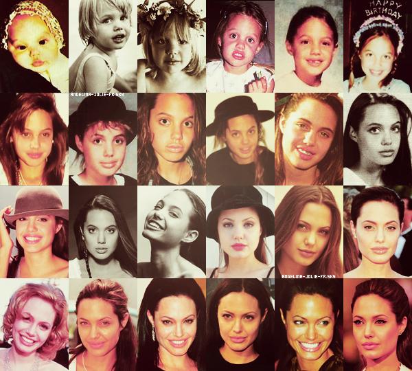 Dossier : Découvrez l'évolution physique d'Angelina Jolie.