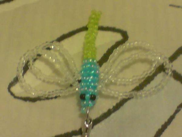 libellule en perle