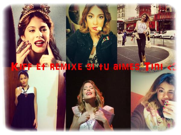 Kiff et remixe si tu aimes Tini ♥