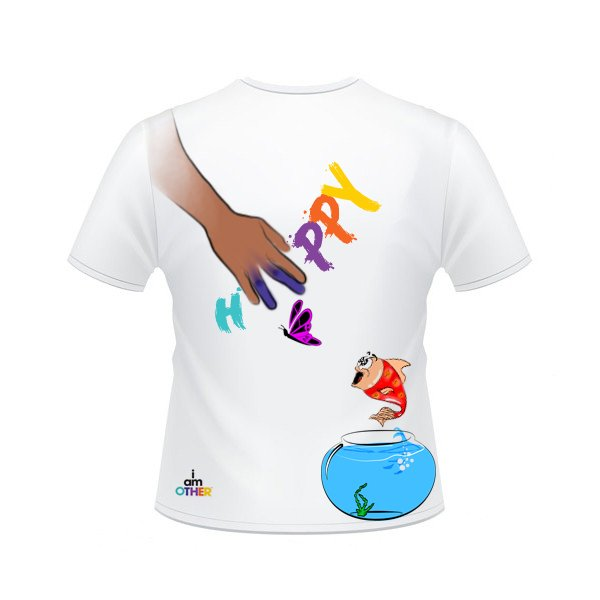 HAPPY CONCOURS TEE-SHIRT PHARRELL WILLIAMS