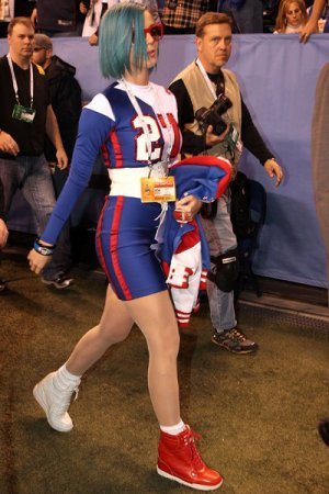 Katy Perry au Superbowl : check le look qui tue ! (Photo Getty Images)