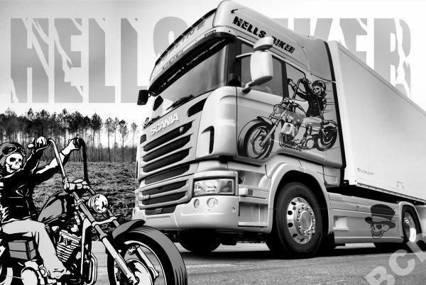 "Scania ""Hells Biker"""