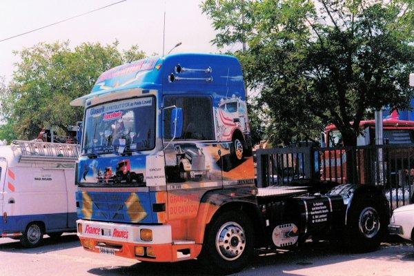 Souvenirs ... camions décorés
