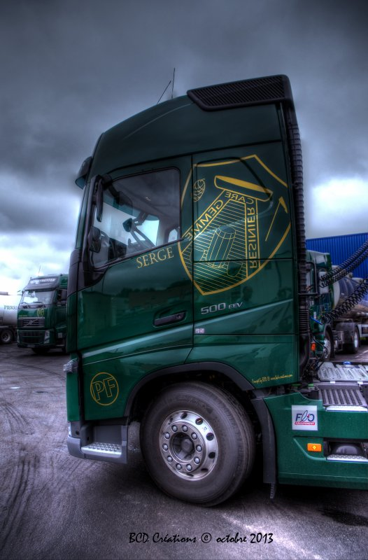 New Volvo FH Transports Pierre Farbos
